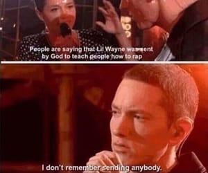 eminem, god, and rap image