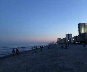 beach, blue skies, and blue sky image