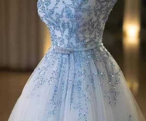 blue, dresses, and فساتين image