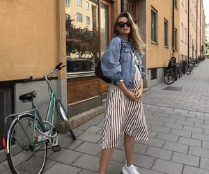 fashion, pregnant, and josefinekström image