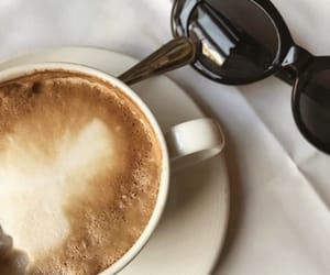 coffee, creamy, and drink image