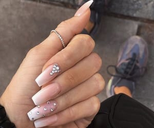 nails, beauty, and shoes image