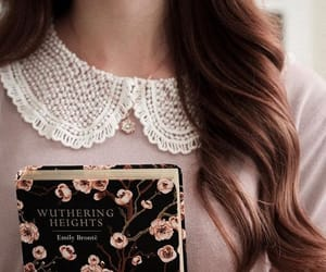 beautiful, book, and vintage flowers image