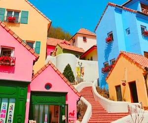 korea and pink image
