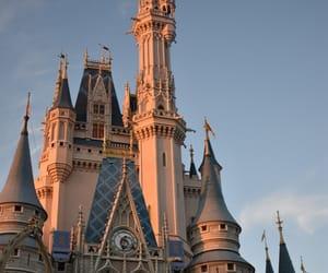 Walt Disney World and cinderella castle image