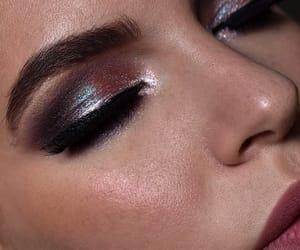eyeshadow, glitter, and iridescent image