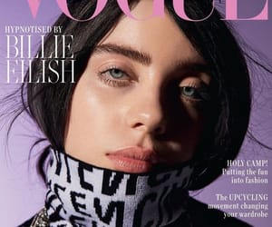 billie eilish, billie, and vogue image