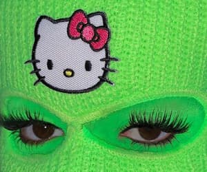 aesthetic, edgy, and green image