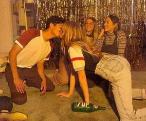 kiss, night, and party image