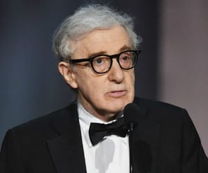 woody allen, christoph waltz, and wallace shawn image