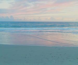 beach, denmark, and sun image