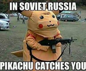 funny, pikachu, and pokemon image