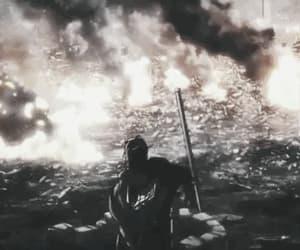 anime, attack on titan, and gif image
