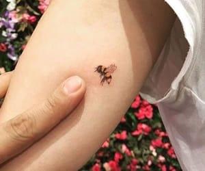 bee, tattoo, and animal image