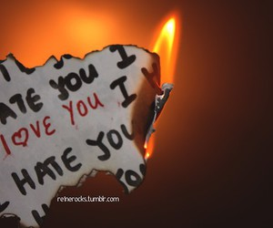burn, burning, and i hate you image