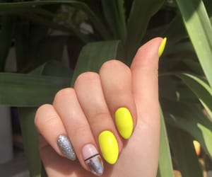 glow, summer, and nails image