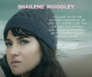 Shailene Woodley, big little lies, and jane chapman image