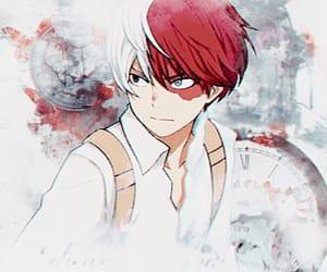 wallpaper, anime boy, and mha image