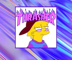 background, lisa simpson, and the simpsons image