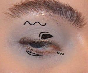 art, eyes, and eyeshadow image