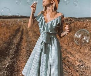 dress, vintage, and elegance image