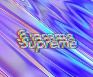 background, supreme, and trippy image