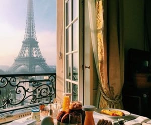 paris, aesthetic, and breakfast image