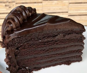 chocolate, food, and ايس كريم image