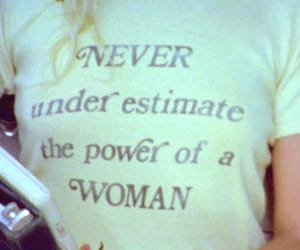 woman, girl, and feminism image