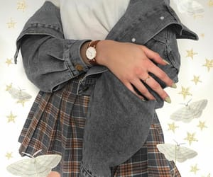 butterfly, grunge indie, and skirt skirts image
