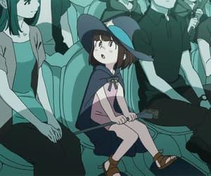 anime girl, blush, and child image