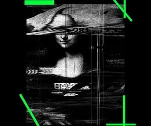 background, mona lisa, and off-white image