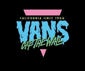 vans, background, and california image