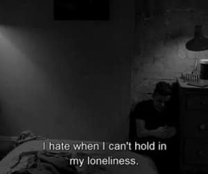 quotes, loneliness, and sad image