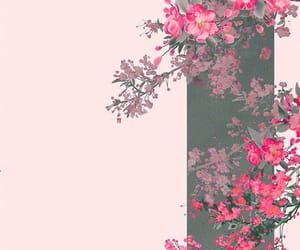 background, art, and flowers image