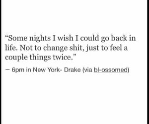 quotes, night, and Drake image