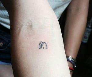elephant, tattoo, and lucy hale image