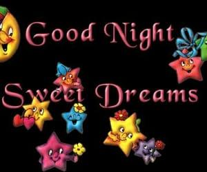 night, smile, and good night image