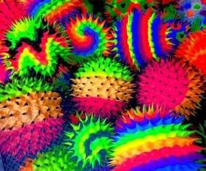 colors, rainbow, and scenecore image