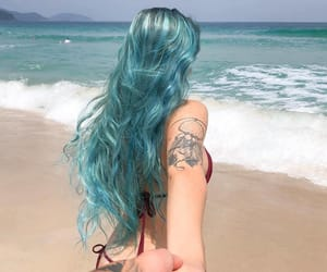 ocean and tattoo image