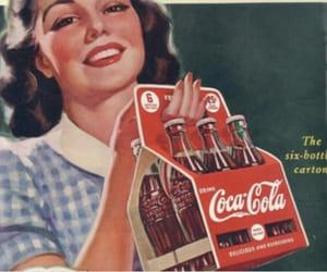vintage, coca cola, and coke image