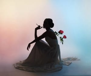 feminine, pretty, and roses image