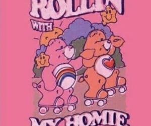 pink, cute, and care bears image