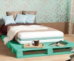 bed, boho, and mori-girl image