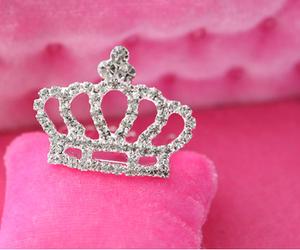 pink, princess, and crown image