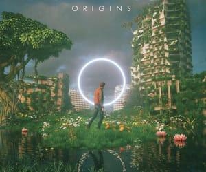 music, imagine dragons, and album image