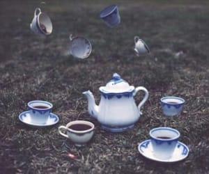 tea, alice in wonderland, and wonderland image