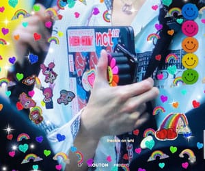 details, taeyong, and stickers image