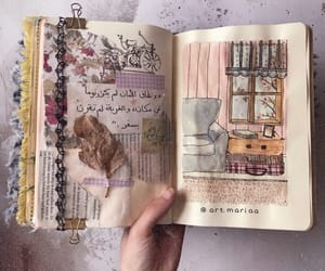 aesthetic, aesthetics, and art journal image