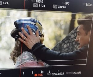 Avengers, behind the scenes, and film image
